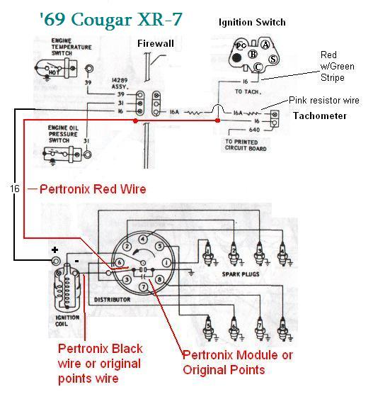 [SCHEMATICS_4JK]  Pertronix pointless ignition module - Classic Cougar Community | Ford Pertronix Ignition Wiring Diagram |  | Classic Cougar Community